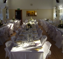 wedding set up cawthorne village