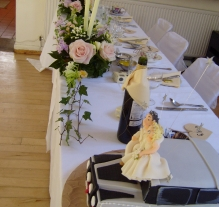 wedding set up cawthorne village 12